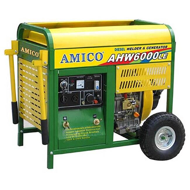 Amico 6000 Watt Diesel Generator With Welder