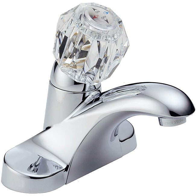Peerless Single-handle Chrome Lavatory Faucet with Pop-up Drain