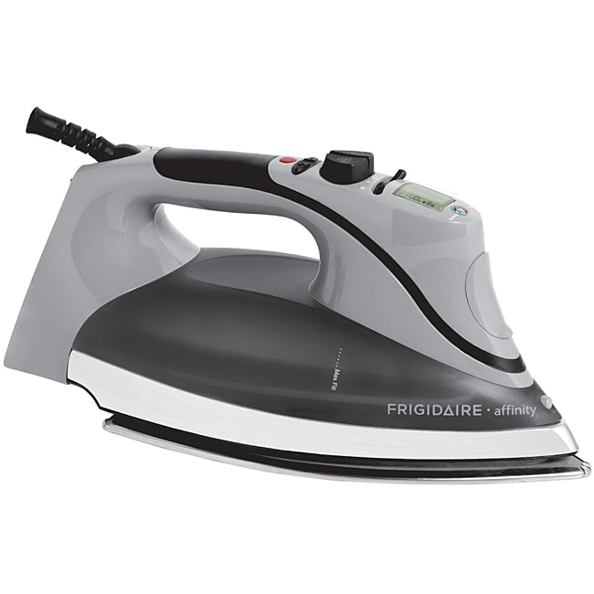 Frigidaire Affinity Classic Grey Steam Plus Pro LCD Iron