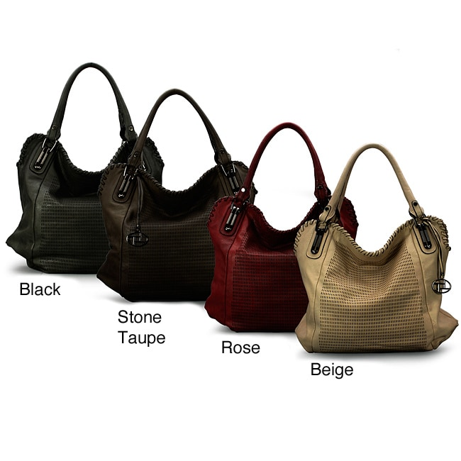La Terre Fashion Perforated Shoulder Bag