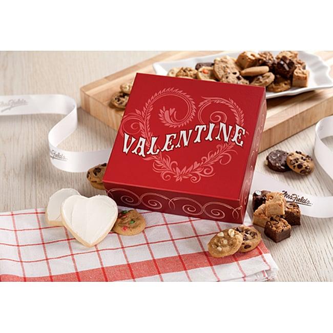 Mrs. Fields Valentine's Day Bites Box