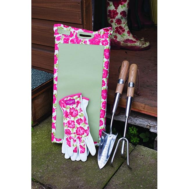 Laura Ashley Four-piece Long Handled Garden Tool Set