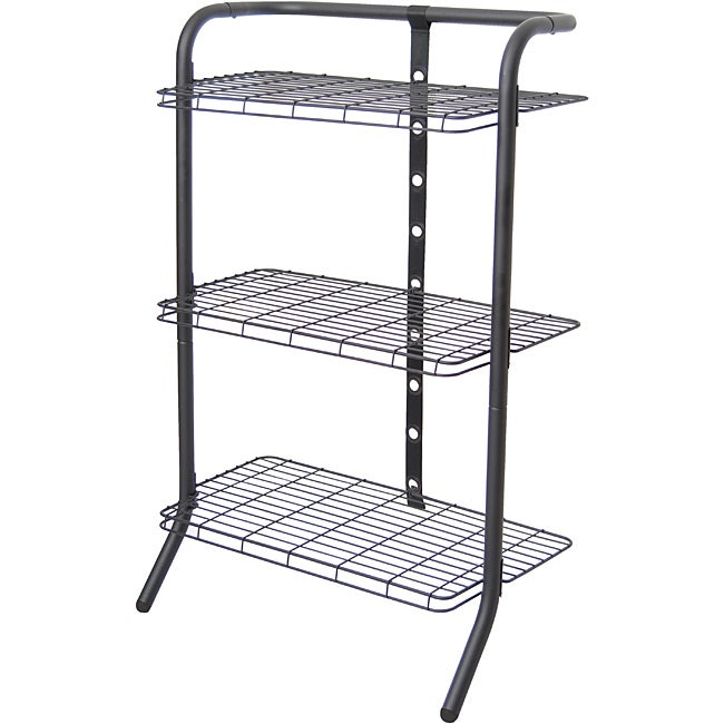 The Art of Storage Black 3-tier Deluxe Gravity Shelf