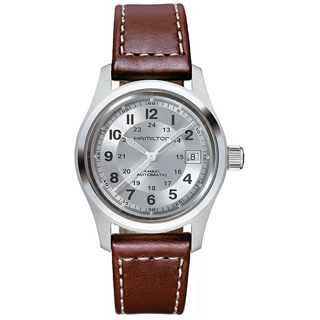 Hamilton Men's Khaki Field Silver Dial Watch