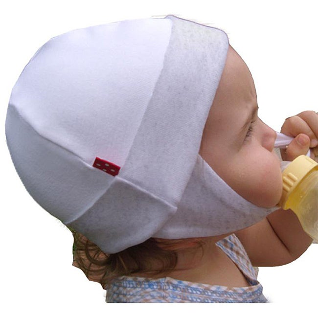 Dots on Tots Organic Cotton and Fleece Baby and Toddler Ear Flap Hat (USA)