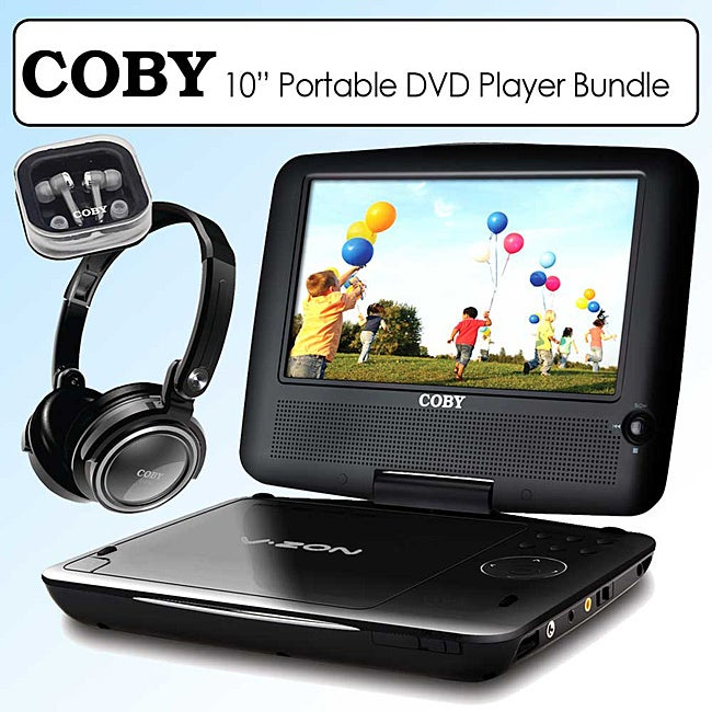 Coby Portable DVD Player (10-inch) - Thumbnail 0