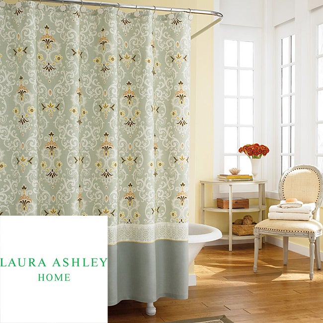 Laura Ashley 'Sheffield' Cotton Shower Curtain