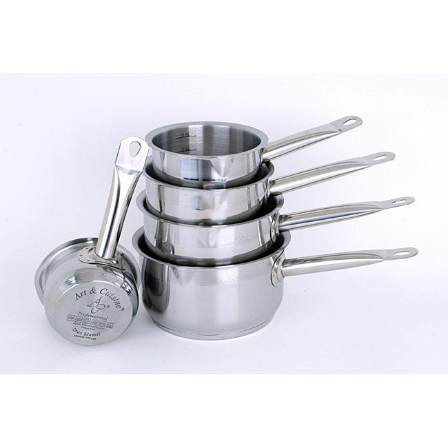Art cuisine 5 piece professionnelle stainless steel for Art and cuisine cookware