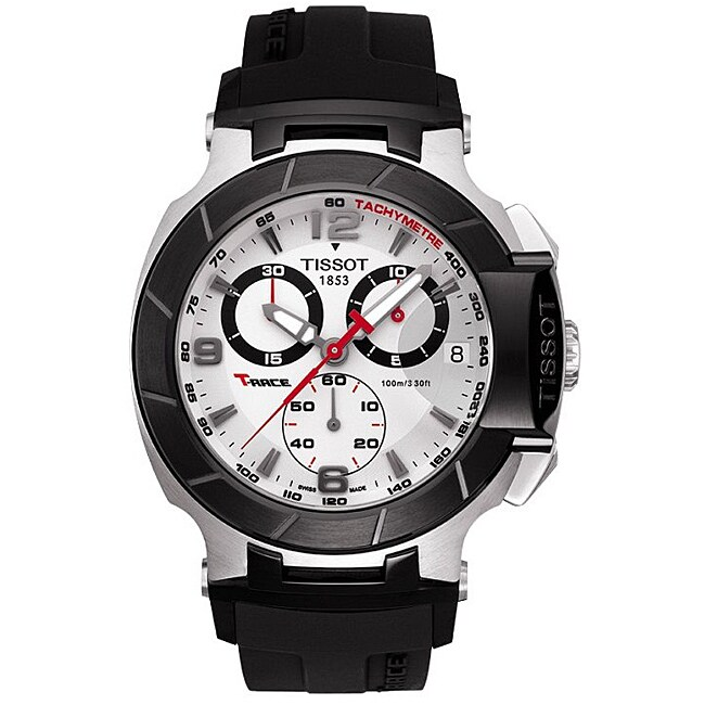 Tissot Men's 'T-Race' Chronograph Watch (T0484172703700),...