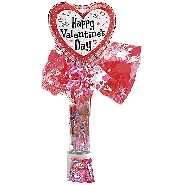 Valentine Candy Gift Tube