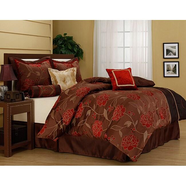 'Iris' Luxury 7-piece Comforter Set