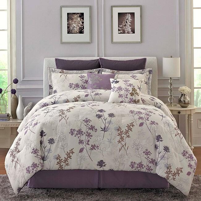 Shop meadow flower 8 piece king size comforter set free shipping meadow flower 8 piece king size comforter set mightylinksfo