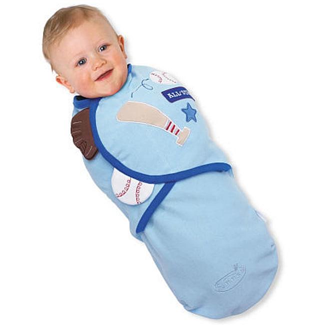 Summer Infant Boy's Small SwaddleMe Blanket in Ball Park