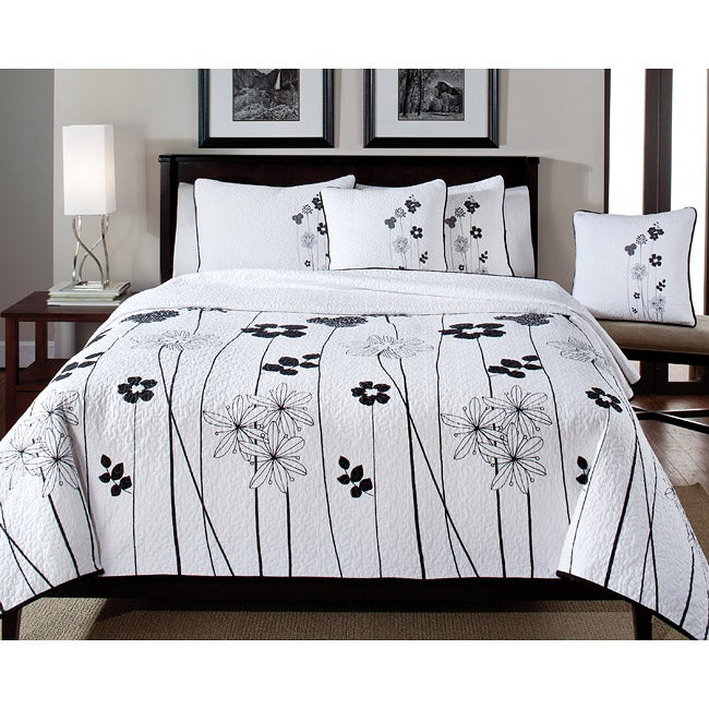 Gigi Full/Queen-size 3-piece Quilt Set