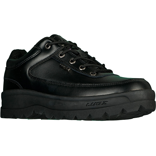Lugz Men's 'Cipher II' Slip-resistant Black Leather Boots
