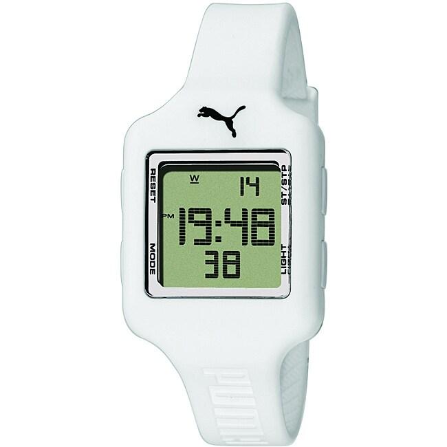 Puma Unisex Slide Strap Digital Watch
