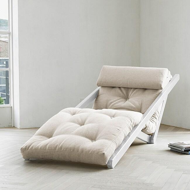 Figo Natural Fresh Futon Sleeper Lounger Free Shipping