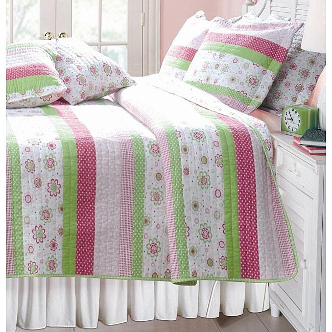 Greenland Home Fashions Dottie Twin-size 2-piece Quilt Set