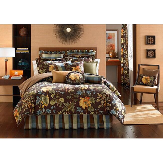 Botanical Garden 4-piece Full-size Comforter Set