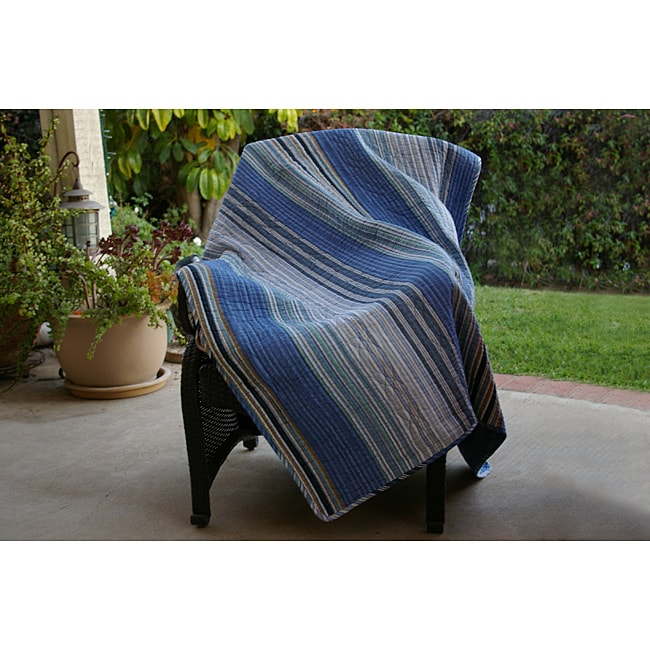 Greenland Home Fashions Brisbane Quilted Throw
