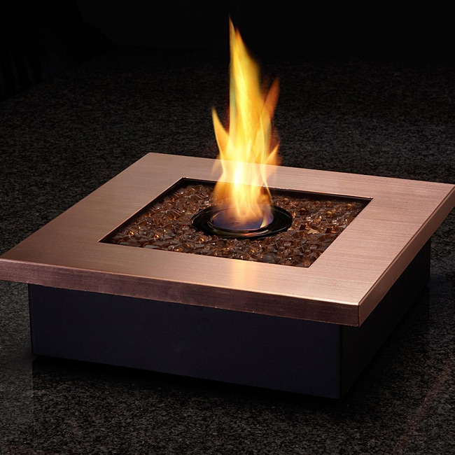 Real Flame 'Zen' Copper Personal Fireplace