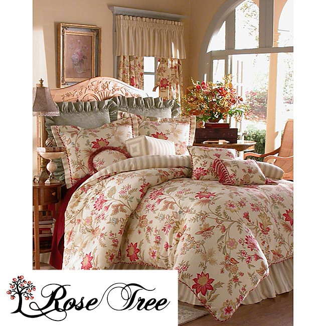 Pacific Floral 4-piece Comforter Set