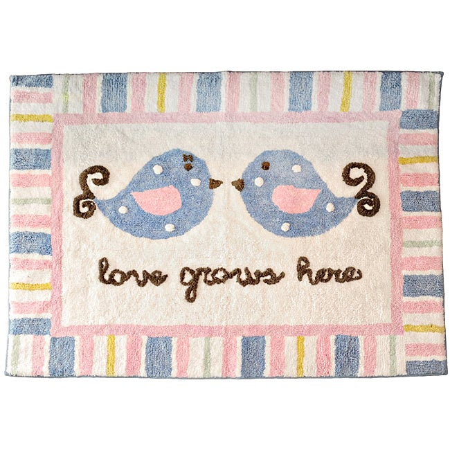 My Baby Sam Love Grows Here Rug - Thumbnail 0