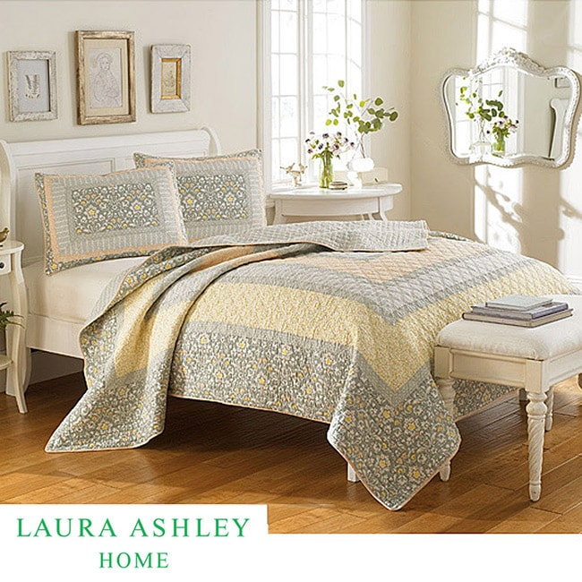 Laura Ashley 39 Sheffield 39 King Size Quilt Free Shipping Today 14110247