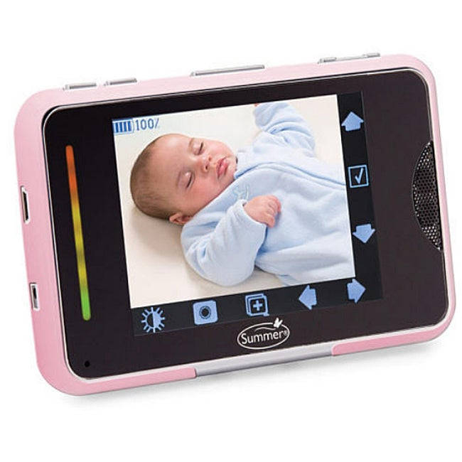 Summer Infant Baby Touch Pink Silicone Monitor Protector