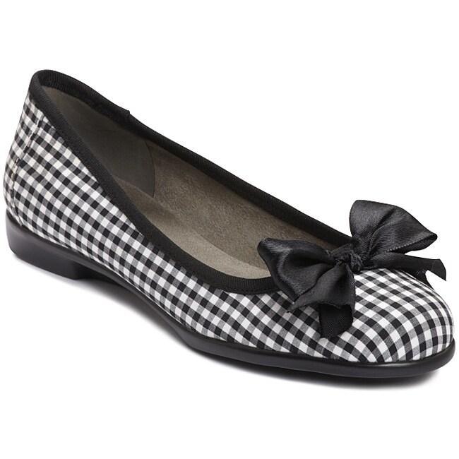 A2 by Aerosoles Women's 'Becomend' Checkered Ballet Flats