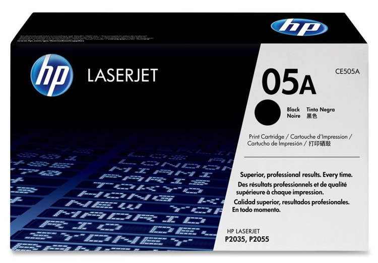 HP Laser Jet 05A Black Toner Cartridge - Thumbnail 0