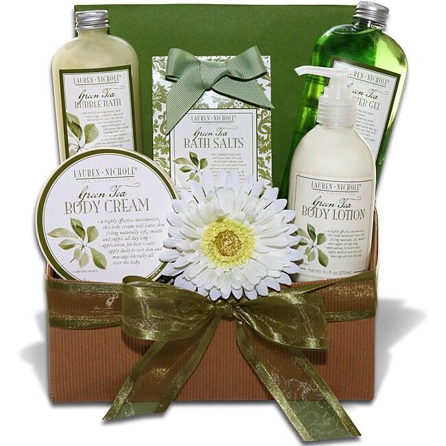 Lauren Nichole Green Tea Spa Gift Tray