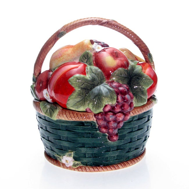 Certified International 'Parisian Fruit' 3-D Cookie Jar