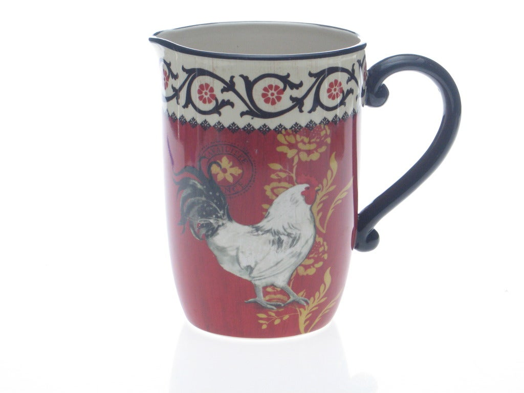 Certified International 'La Provence Rooster' Pitcher