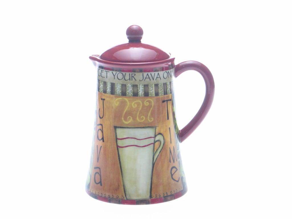 Certified International Java Time 46-ounce Coffee Serving Pot