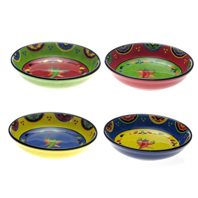 Certified International Hot and Saucy Pasta Bowls (Set of 4)