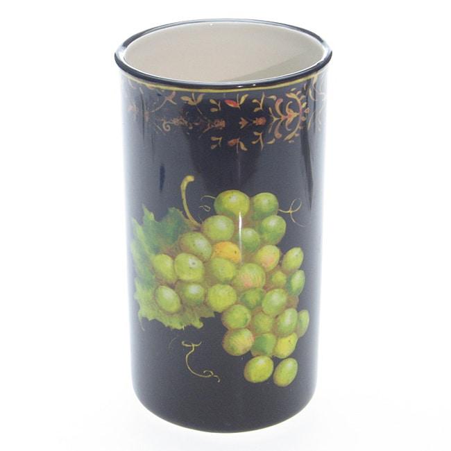 Certified International Fruit Filigree Wine Cooler