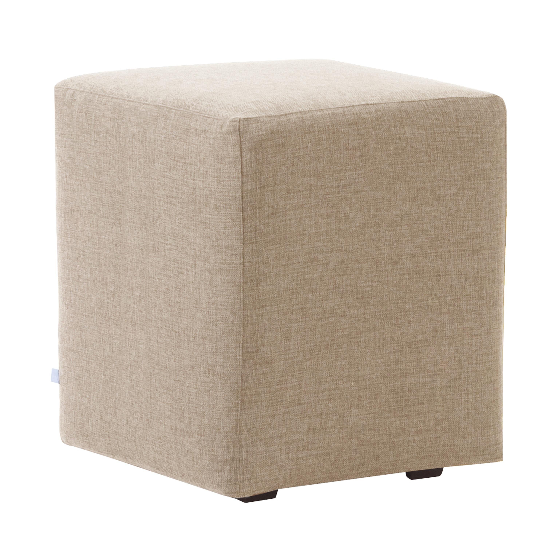 Sand Slip Covered Cube Seat