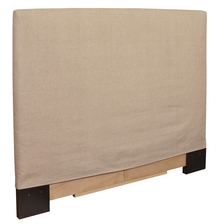 King-size Sand Slip Covered Headboard