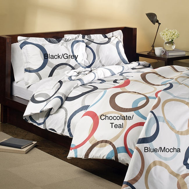 Infinity 3-piece Duvet Cover Set - Thumbnail 0