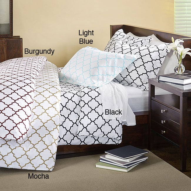 Charleston 3-piece Duvet and Sham Cover Set - Thumbnail 0