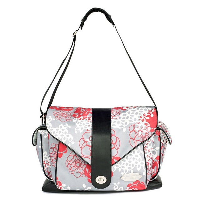 jj cole myla diaper bag in cherry lotus free shipping today 14115632. Black Bedroom Furniture Sets. Home Design Ideas