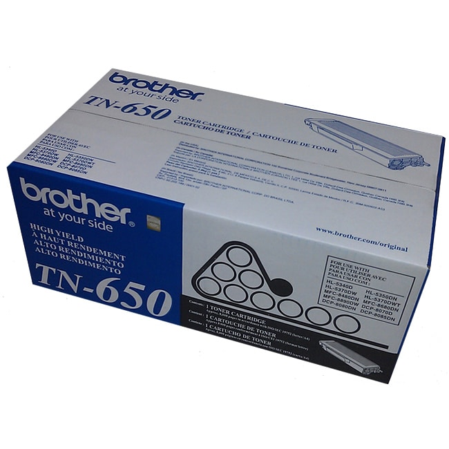 Brother TN650 Black Toner - Thumbnail 0