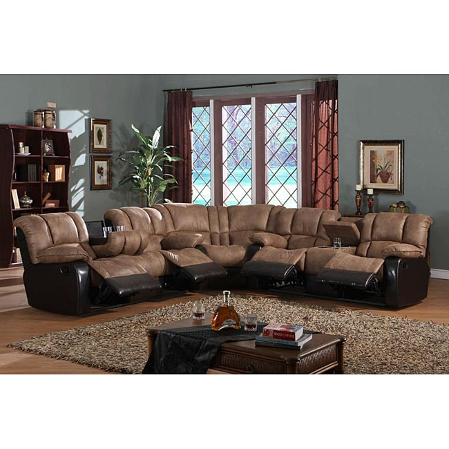 Mission Reclining Sectional Free Shipping Today
