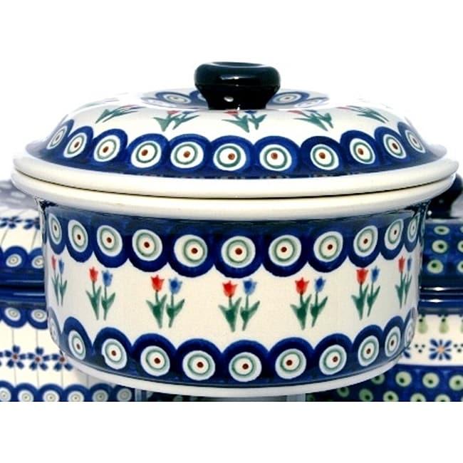 Polish Stoneware 5-cup Casserole Dish (Poland)