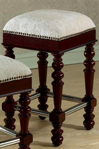 Old World Mahogany Counter Stool Free Shipping Today