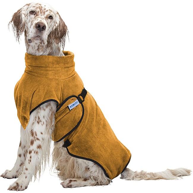 Furminator Large Blaze Orange Fur Dry Microfiber Pet Towel