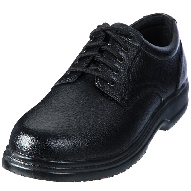 Deer Stags Mens Saturn Black Non marking Oxfords Compare