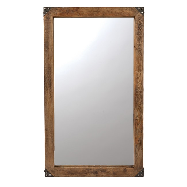 60 Inch Wall Mirror kosas home jaden 60-inch wooden wall mirror - free shipping today