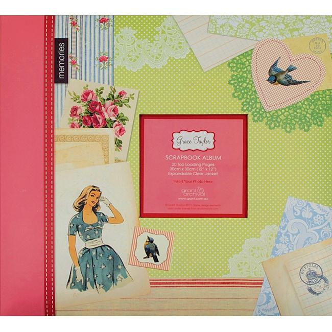Grant Studios 'Vintage' Printed Sanpload Strap Album